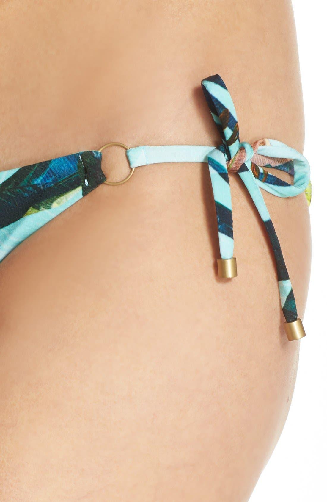 Alternate Image 4  - Vitamin A® 'Celebrity' Side Tie Bikini Bottoms
