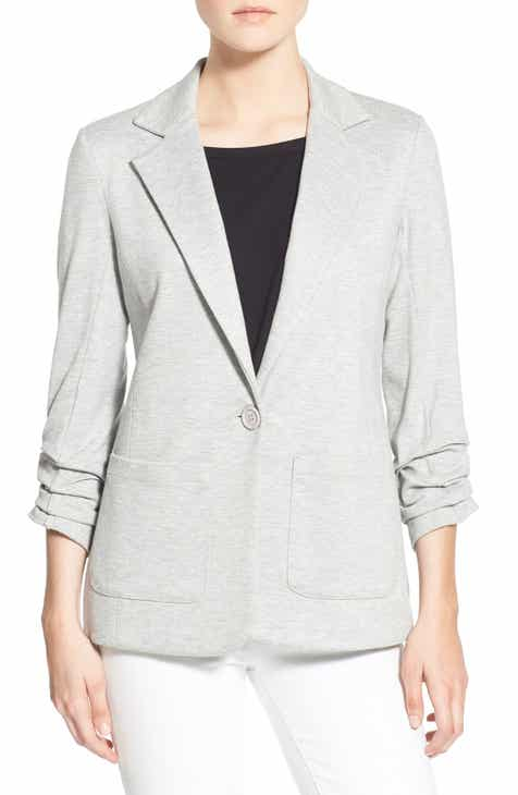 Bailey 44 'Jane' Ruched Sleeve Knit Blazer by BAILEY 44