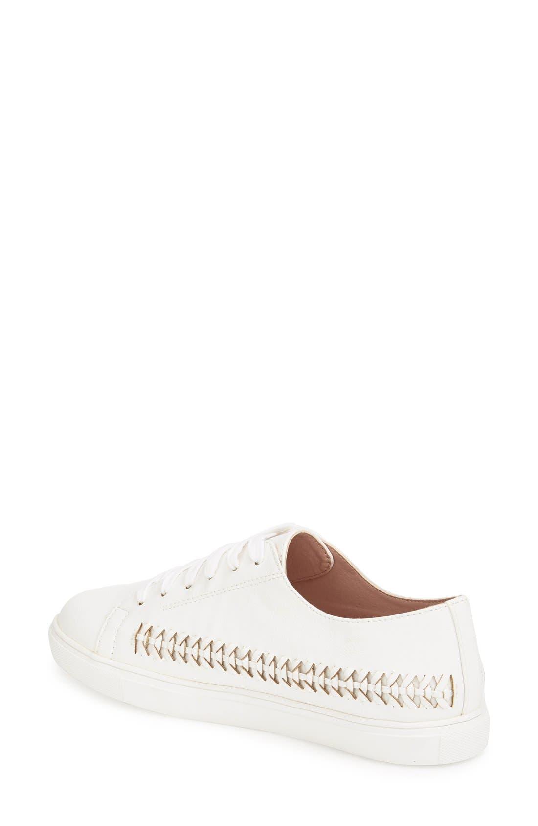 Alternate Image 2  - Topshop 'Conner Plait' Sneaker (Women)