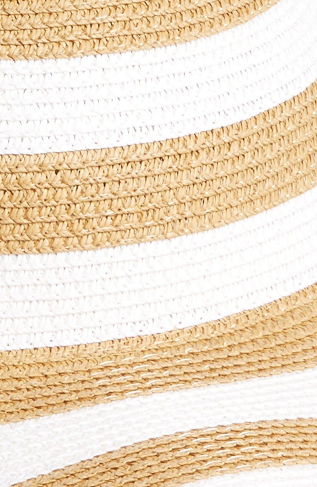 Alternate Image 2  - BP. Oversize Packable Straw Hat