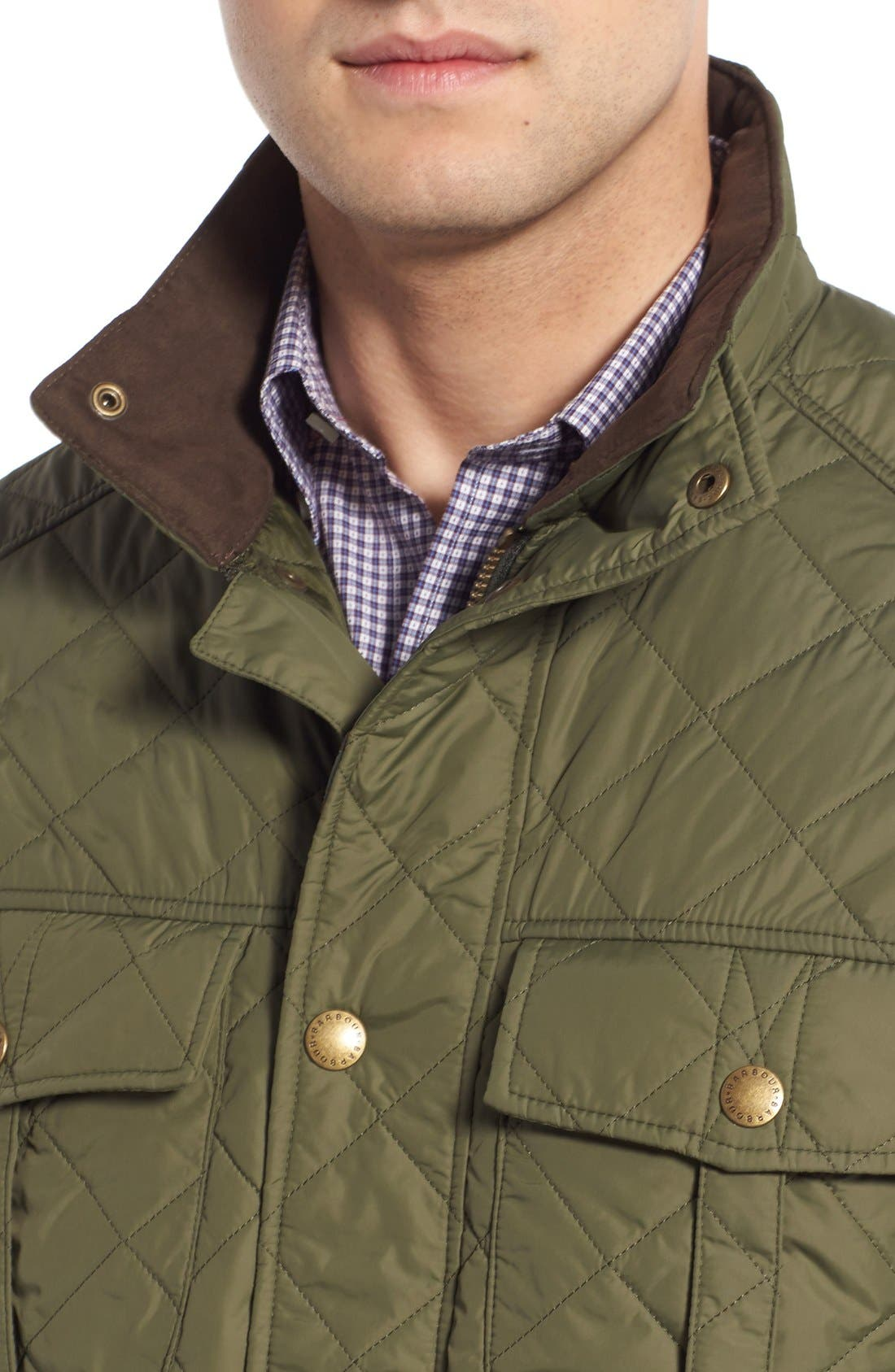 Alternate Image 4  - Barbour 'Explorer' Water-Resistant Quilted Utility Jacket
