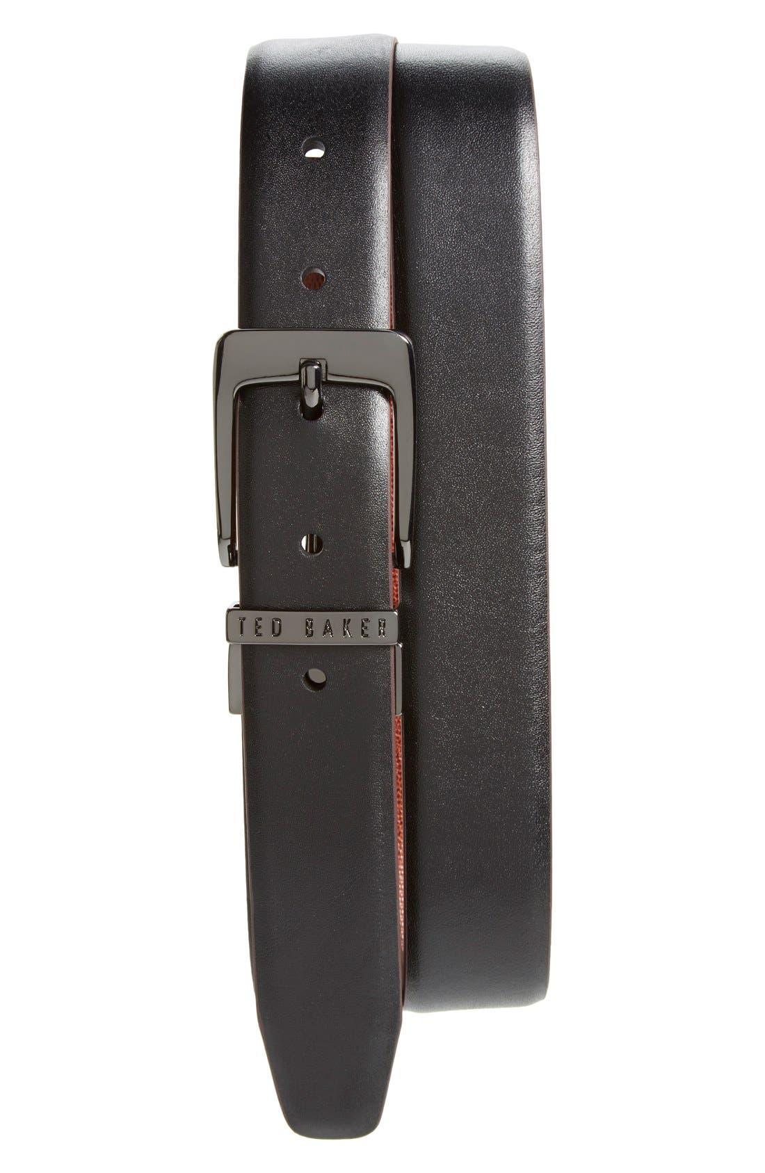 Ted Baker London 'Lizlow' Reversible Leather Belt