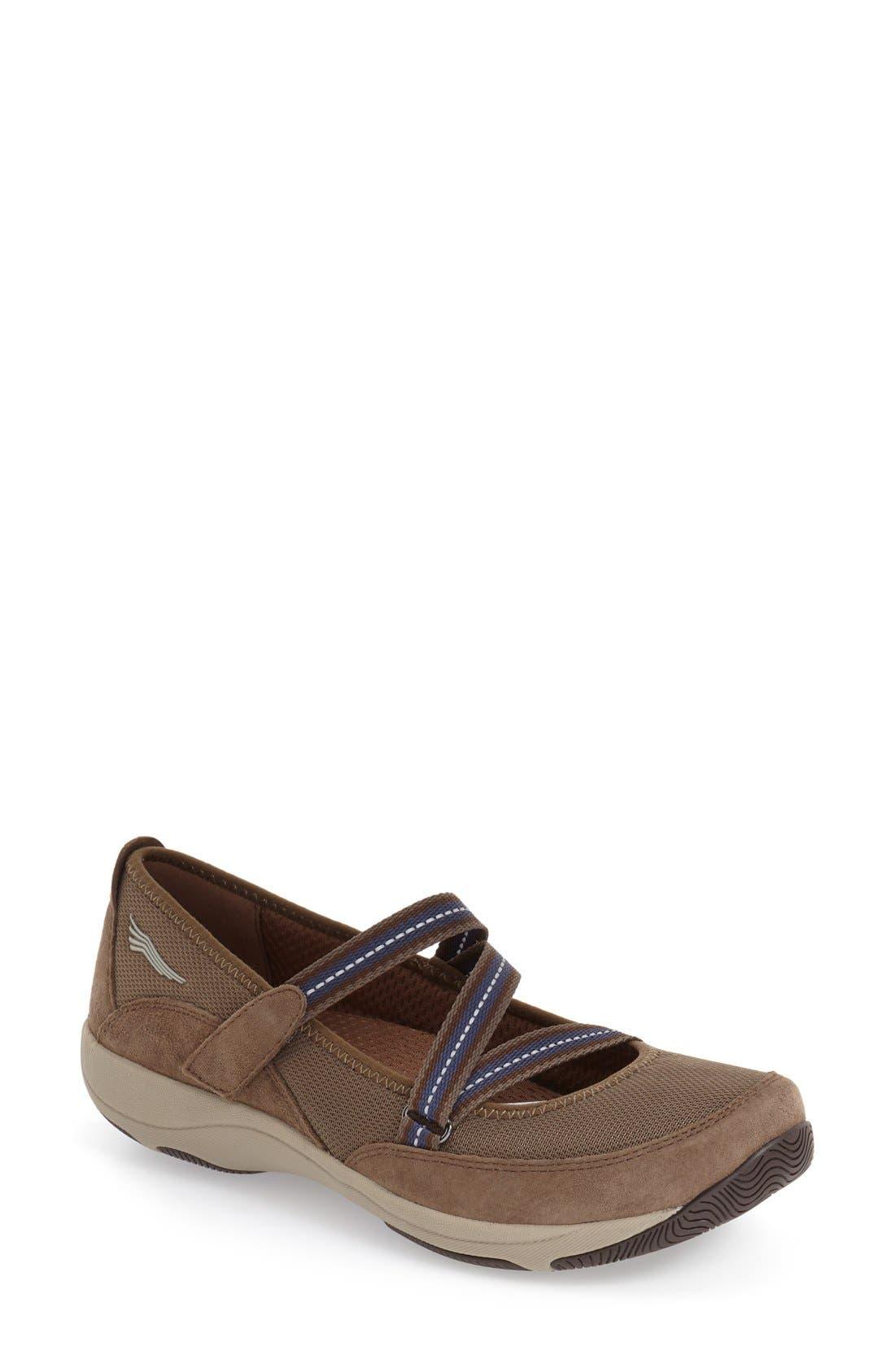 'Hazel' Slip-On Sneaker,                         Main,                         color, Taupe Suede