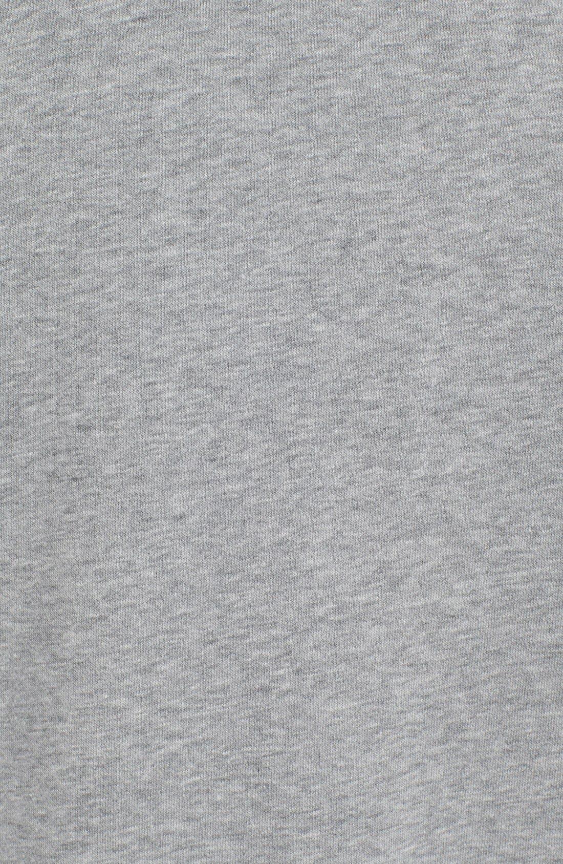 'Icon' Zip Hoodie,                             Alternate thumbnail 5, color,                             Grey