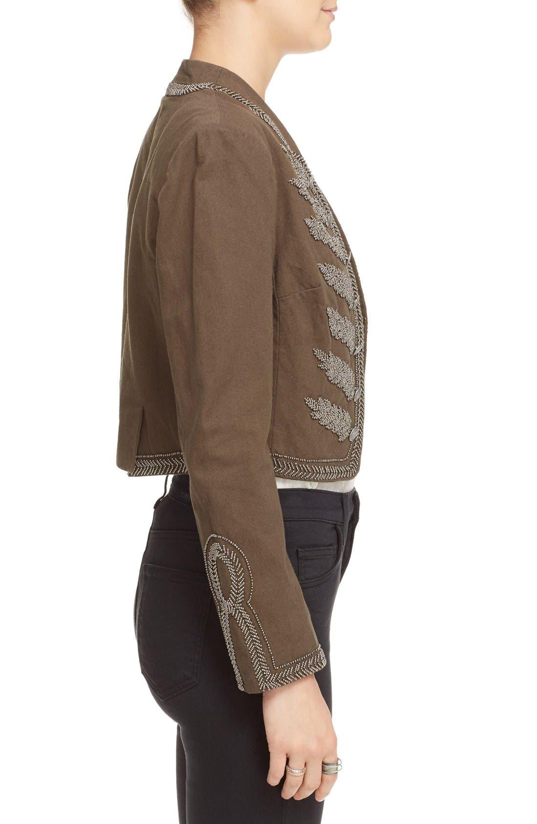 Alternate Image 3  - Free People Embellished Band Jacket