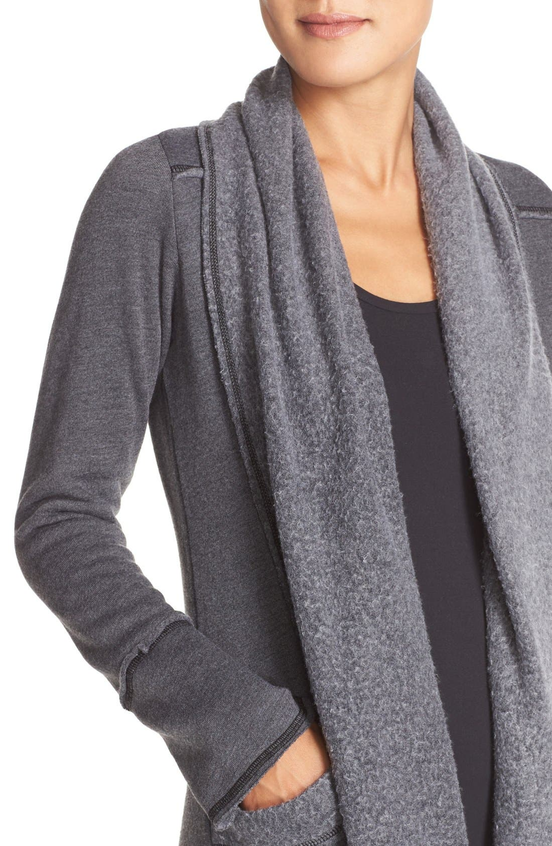 Alternate Image 4  - Hard Tail Slouchy Knit Cardigan