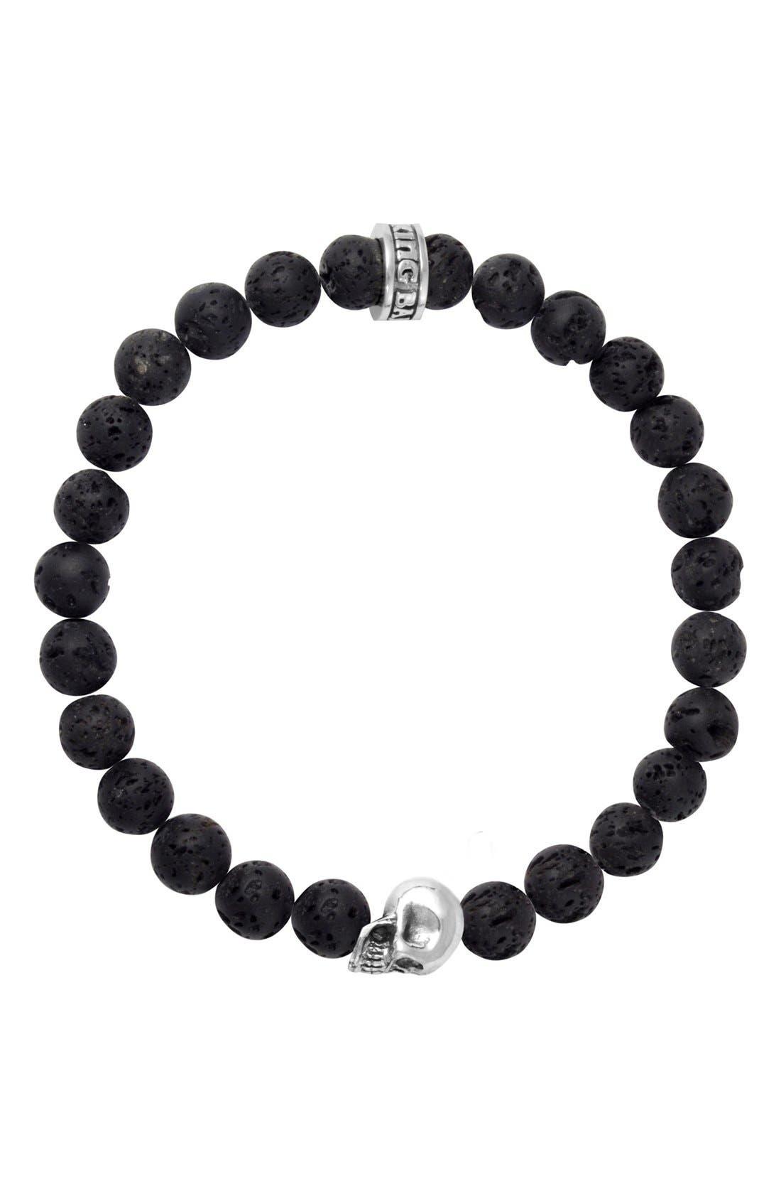Main Image - King Baby Lava Rock Bead Bracelet
