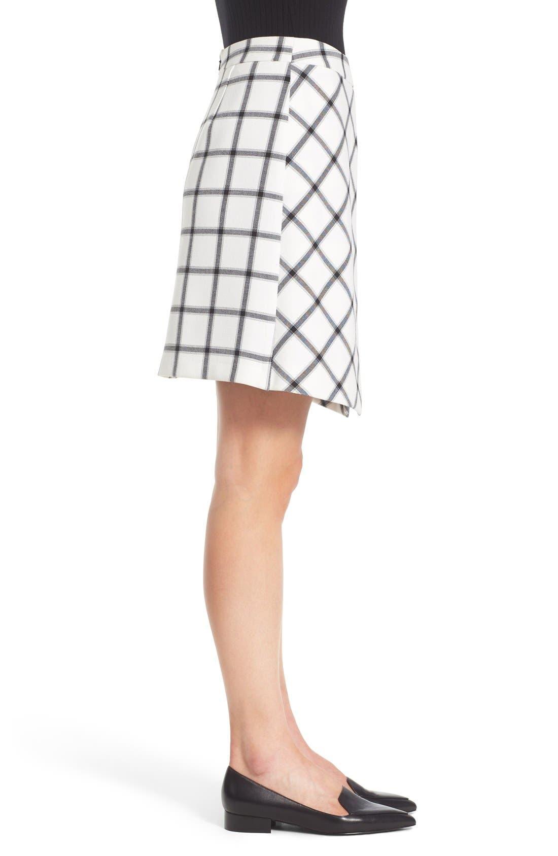 Alternate Image 4  - Halogen® Pleat Detail A-Line Skirt (Regular & Petite)