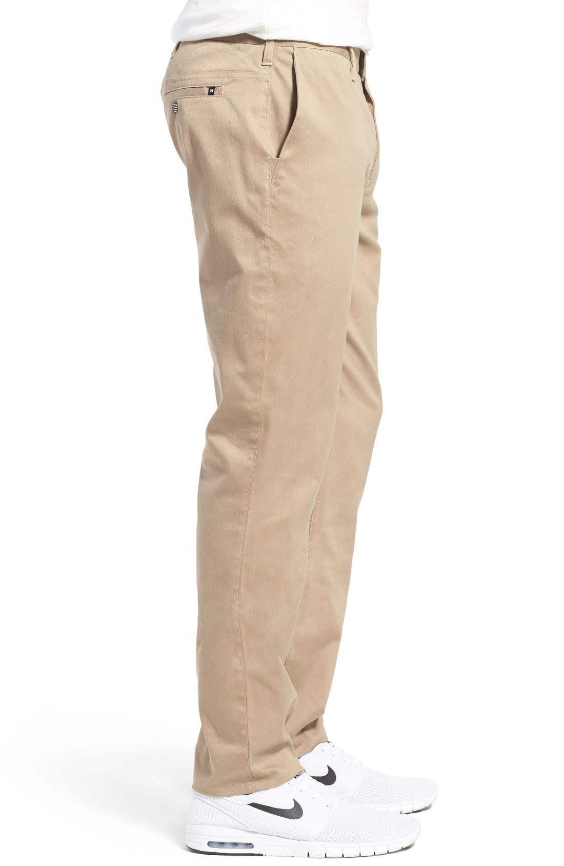 Dri-FIT Chinos,                             Alternate thumbnail 3, color,                             Beige