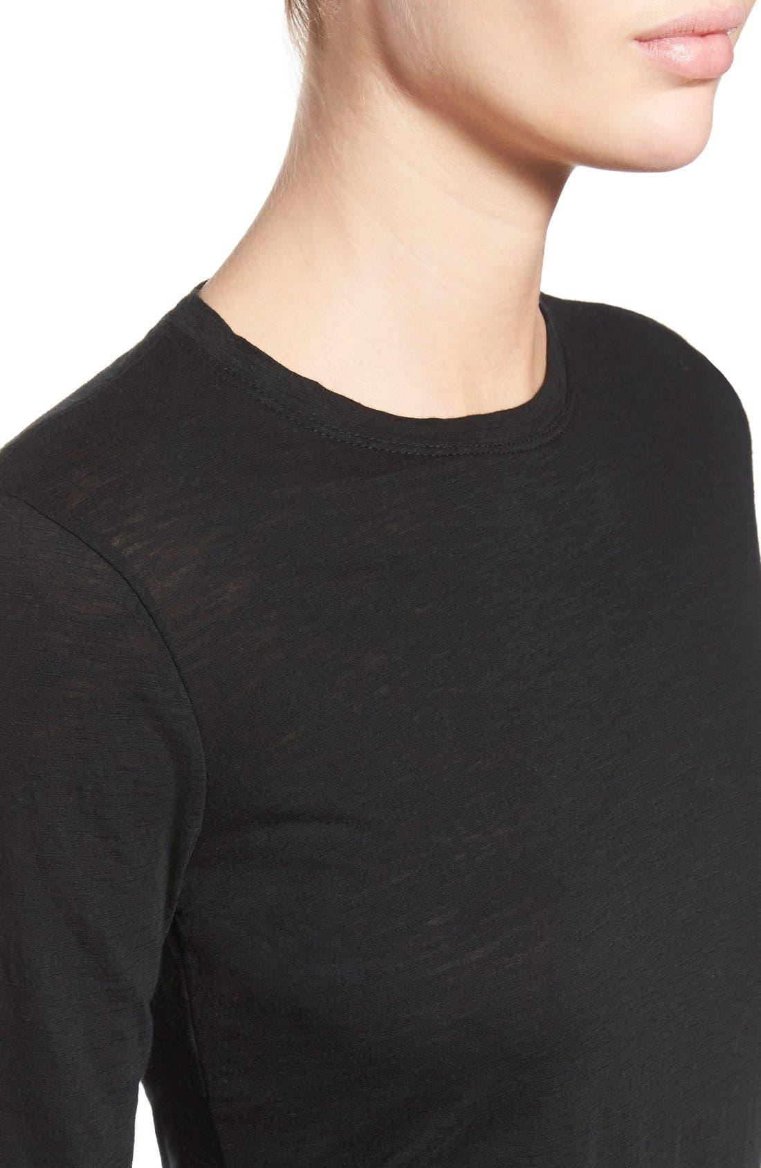 Alternate Image 5  - Proenza Schouler Tissue Jersey Long Sleeve Tee