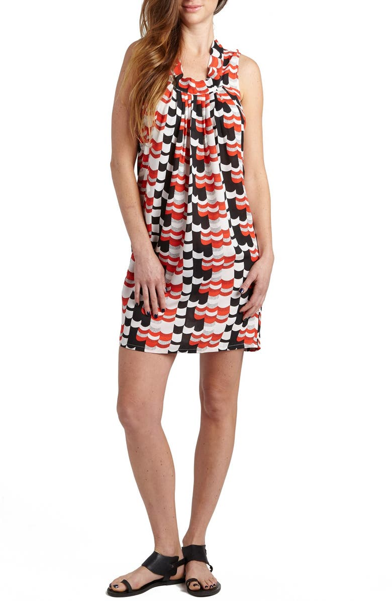 Anya Print Maternity/Nursing Shift Dress