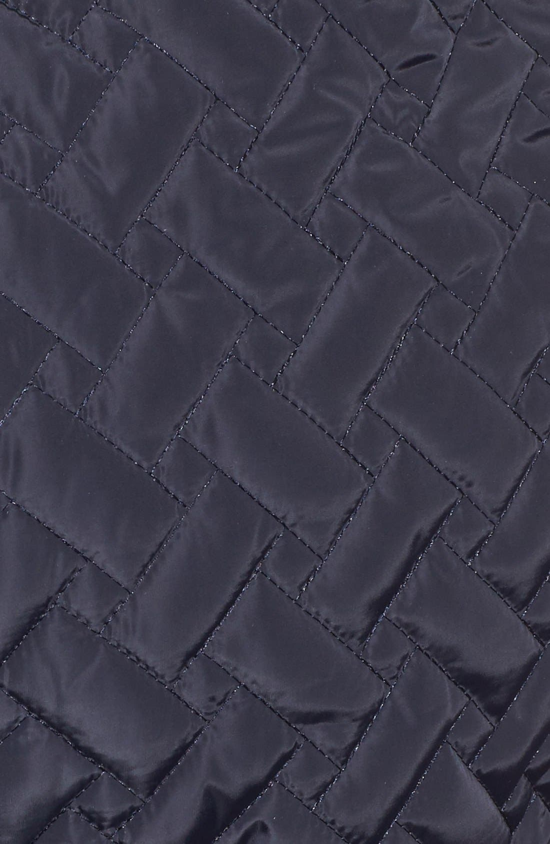 Alternate Image 5  - Cole Haan Signature Water Resistant Quilted Wrap Coat