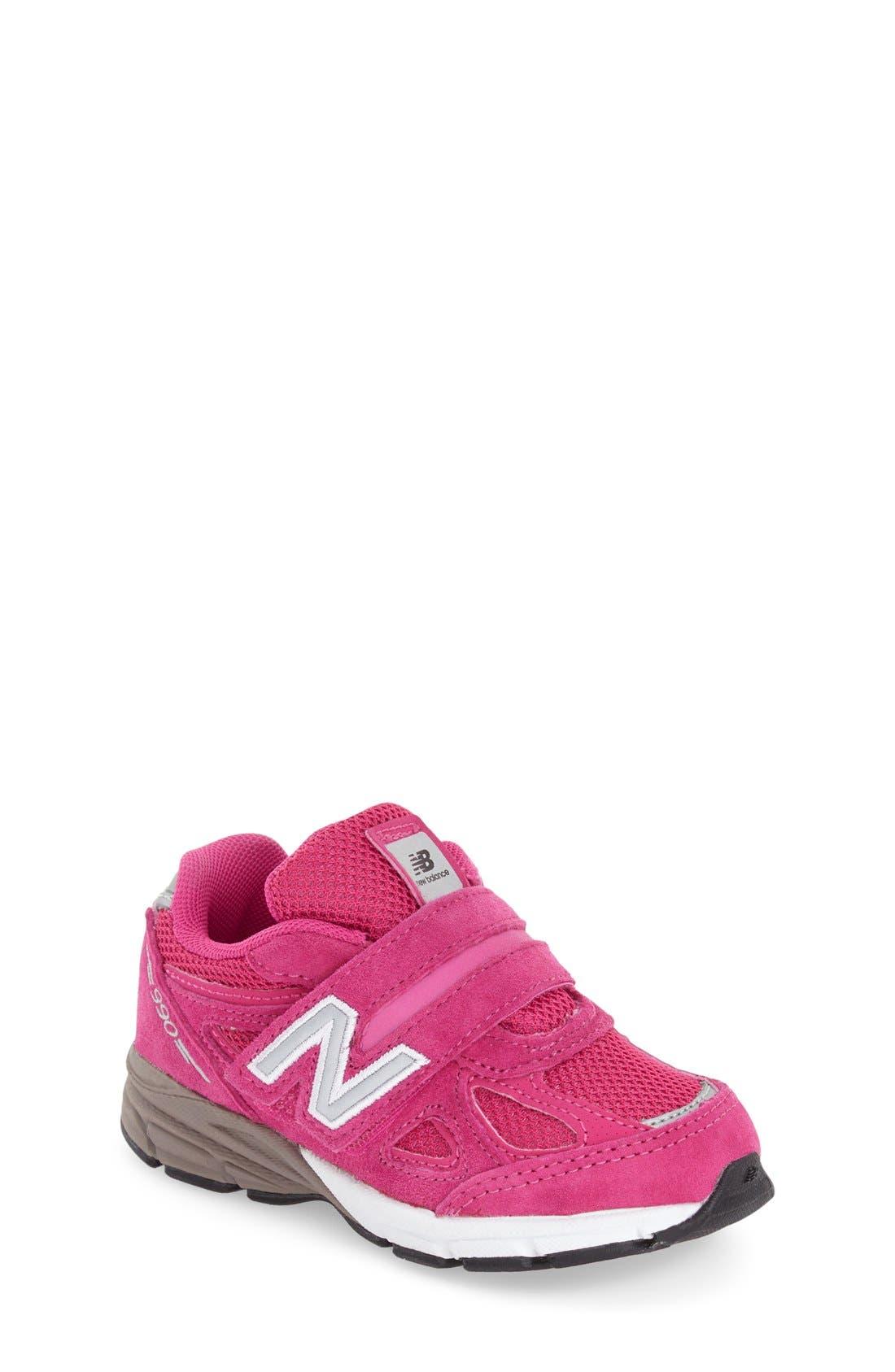'990' Sneaker,                             Main thumbnail 1, color,                             Pink
