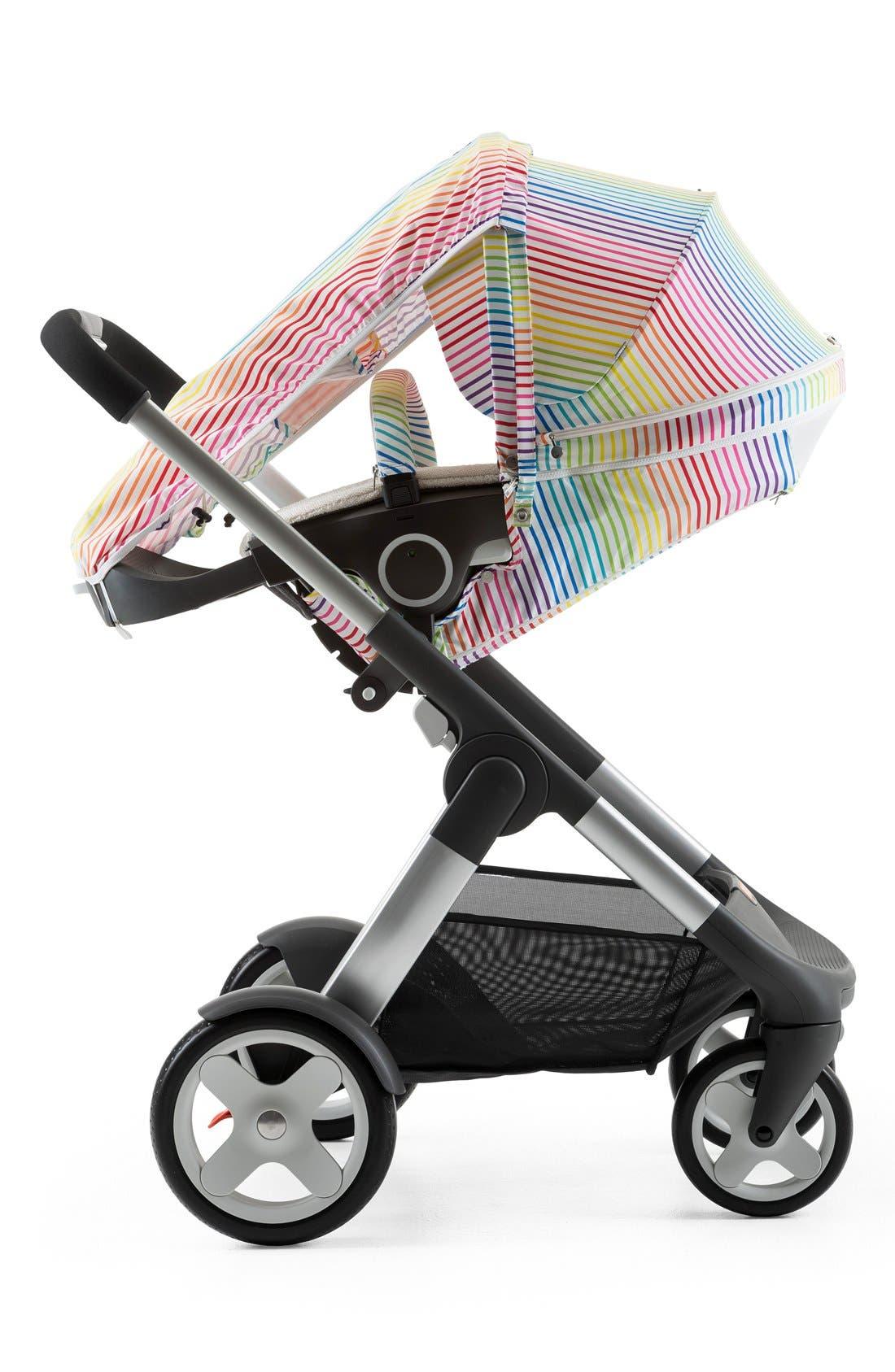 'Xplory<sup>®</sup> Stroller Summer Kit' Shade Set,                             Alternate thumbnail 3, color,                             Multi Stripe