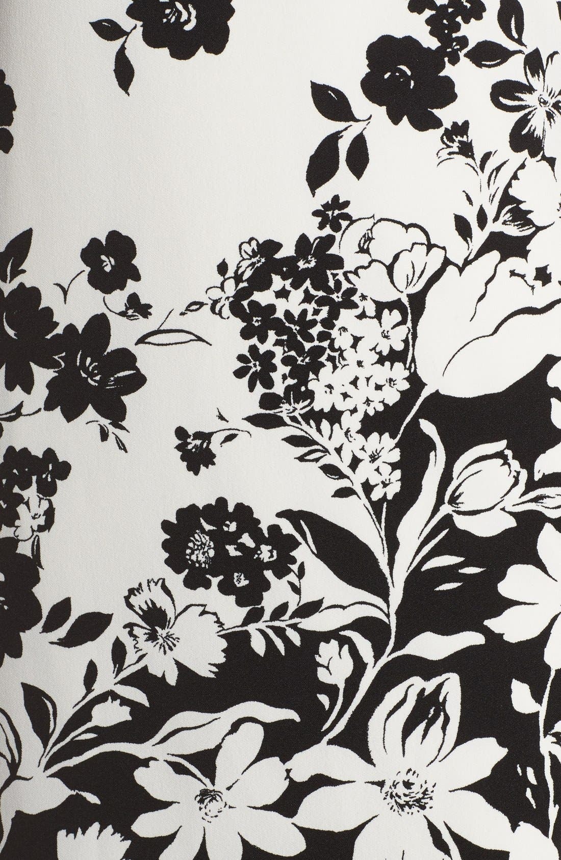 Alternate Image 5  - Adrianna Papell Floral Print Shift Dress