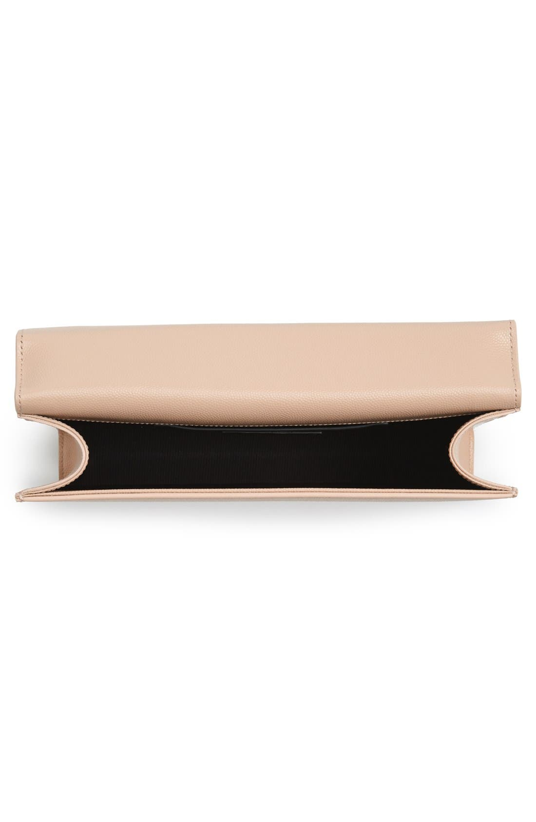 Alternate Image 4  - Saint Laurent 'Monogram' Leather Clutch
