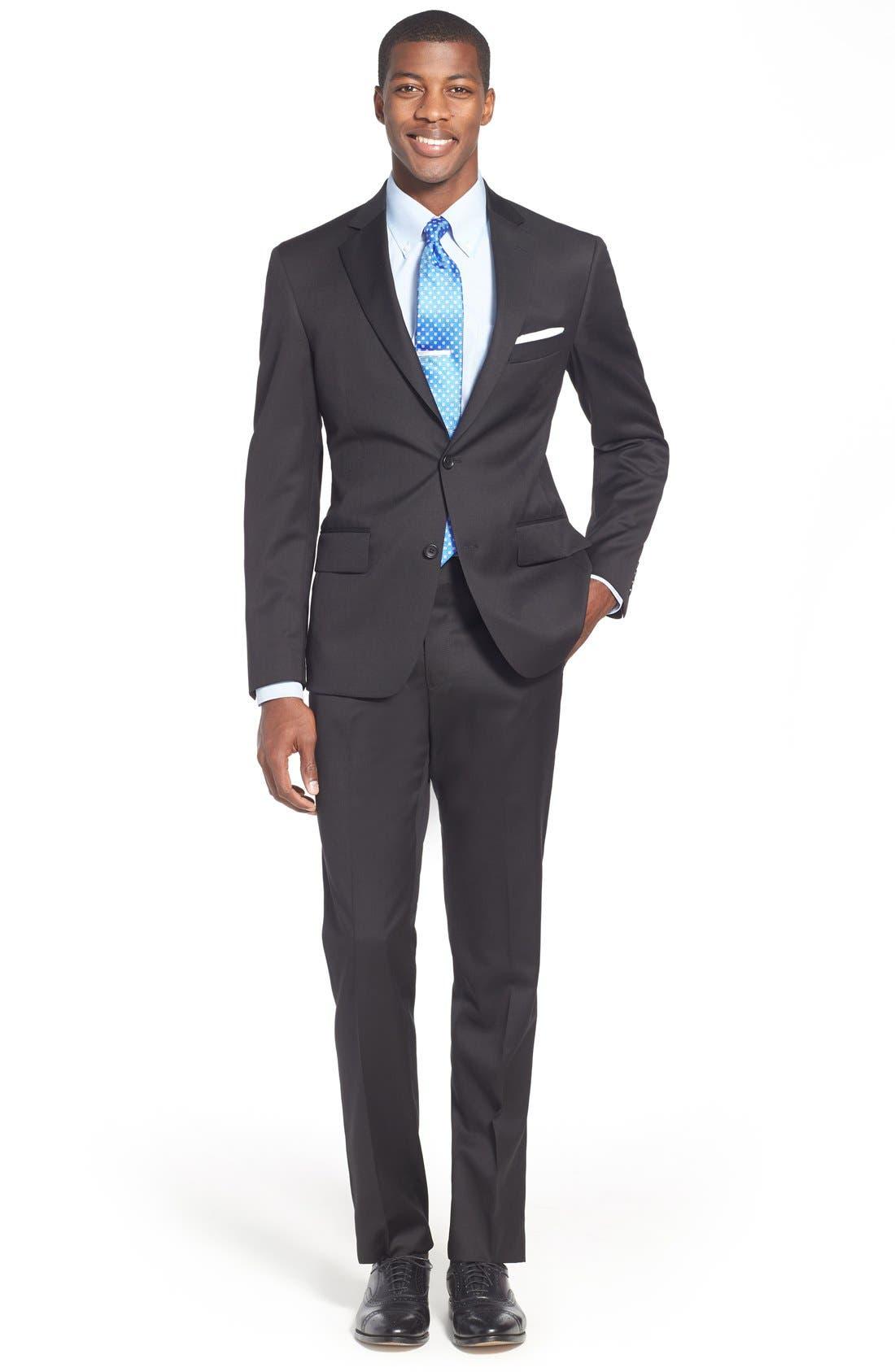 Alternate Image 4  - Nordstrom Men's Shop Smartcare™ Traditional Fit Pinpoint Dress Shirt