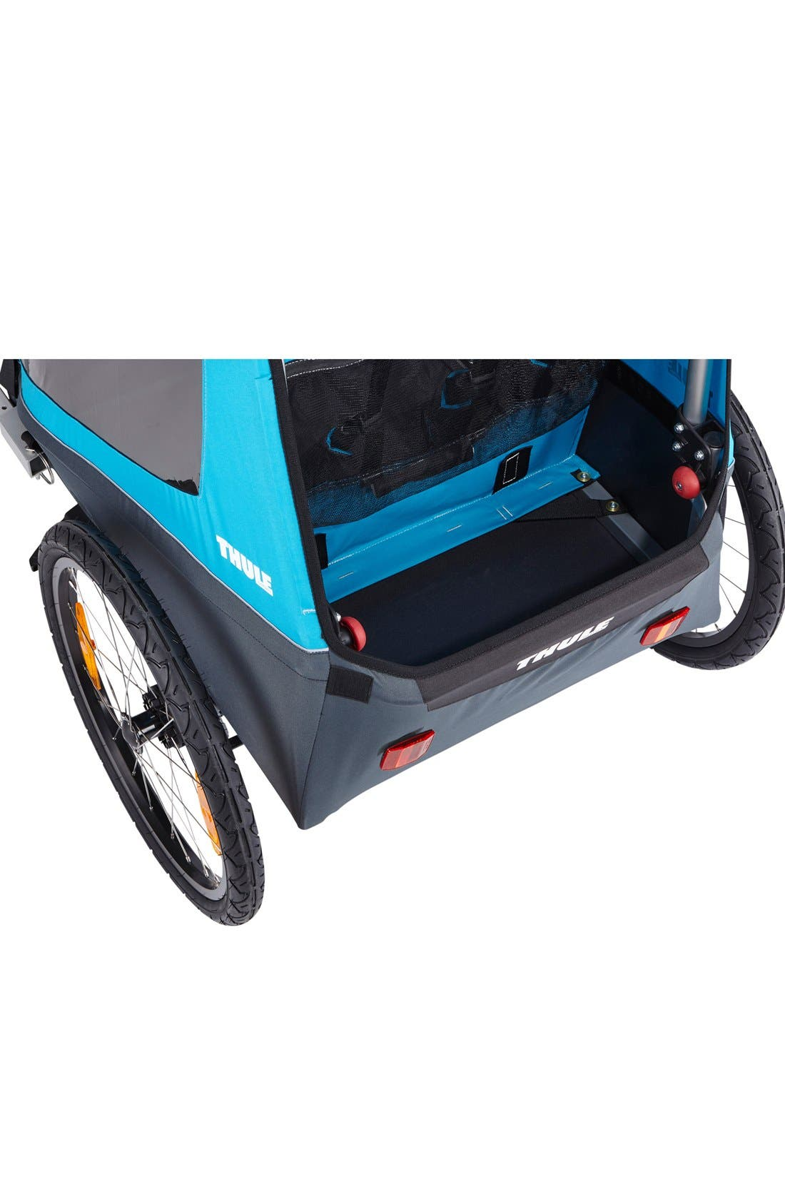 Coaster XT Double Seat Bike Trailer,                             Alternate thumbnail 6, color,                             Blue