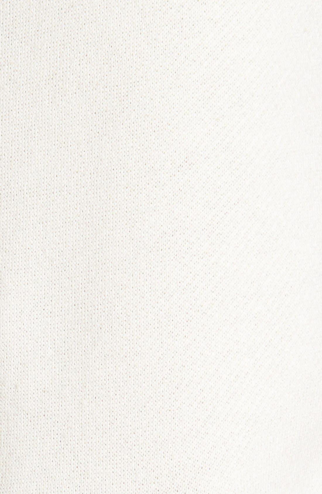 Alternate Image 5  - RVCA Raglan Sleeve Logo Hoodie