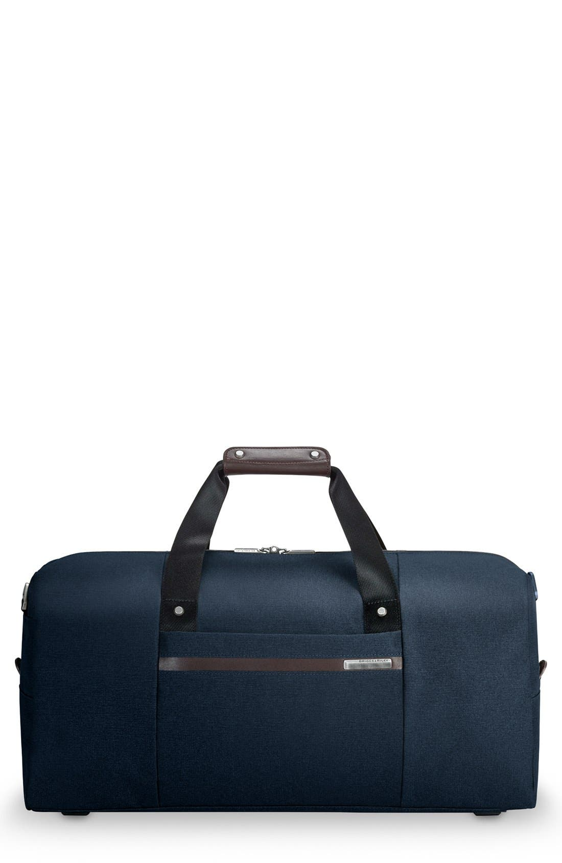 Kinzie Street - Simple Duffel Bag,                             Main thumbnail 1, color,                             Navy Blue