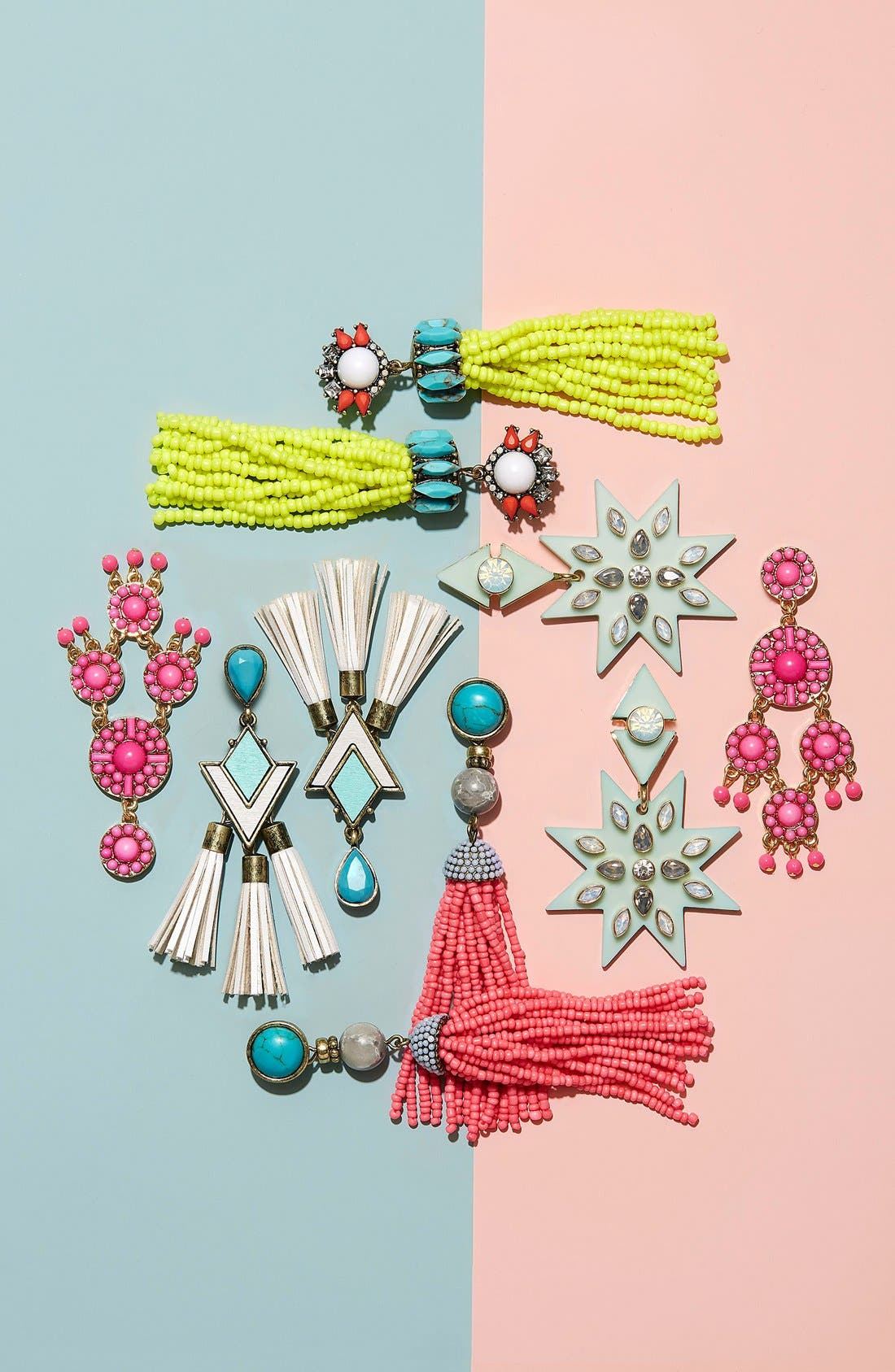 Alternate Image 2  - BaubleBar 'Artemis' Beaded Tassel Drop Earrings