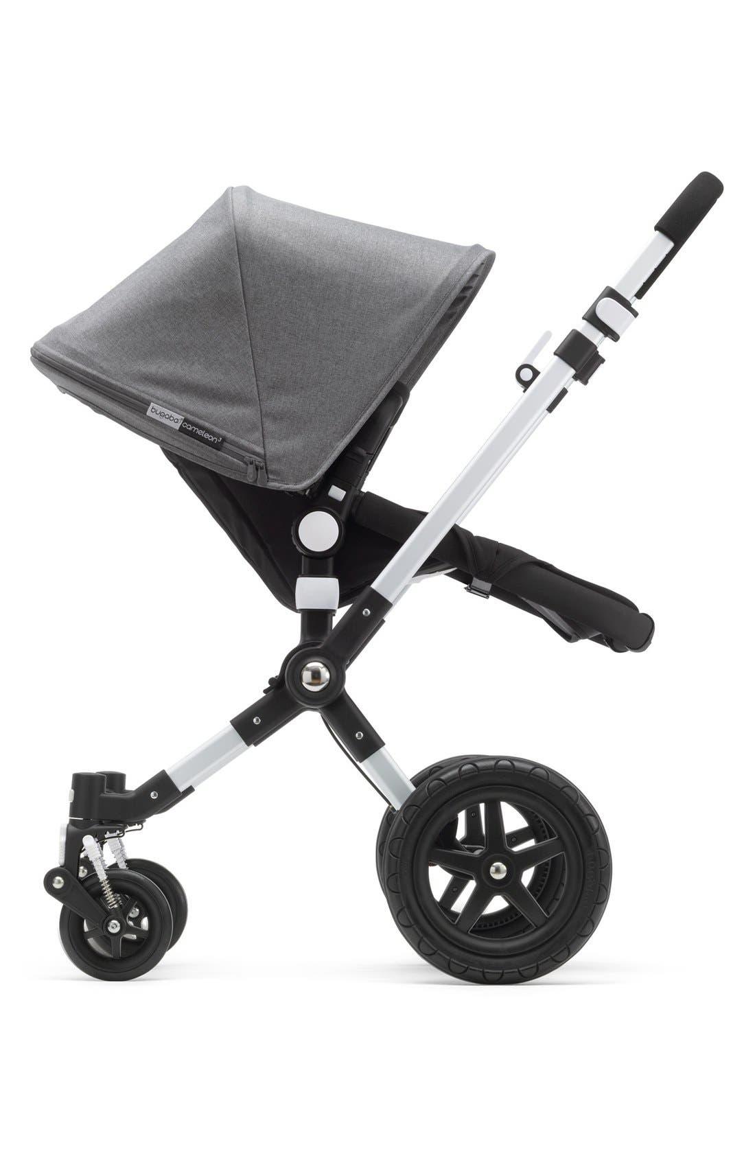 'Cameleon3' Stroller Tailored Fabric Set,                             Alternate thumbnail 2, color,                             Grey Melange