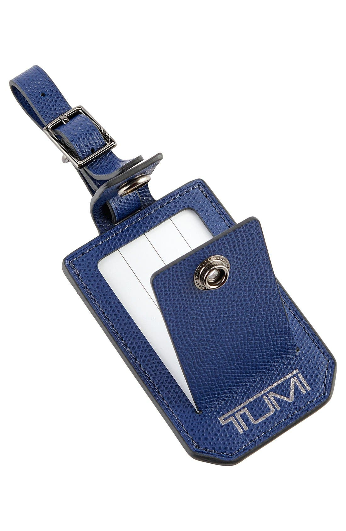 Alternate Image 2  - Tumi 'Camden' Leather Luggage Tag