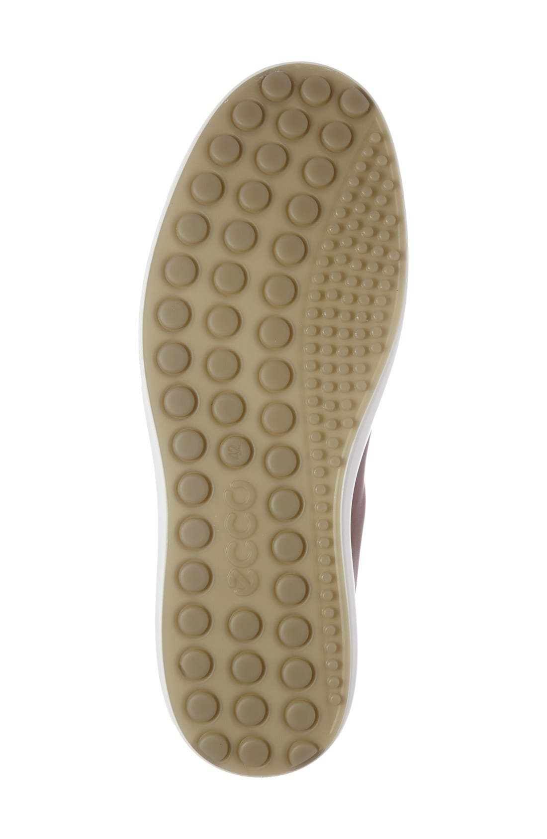 Alternate Image 4  - ECCO 'Soft 7' High Top Sneaker (Men)