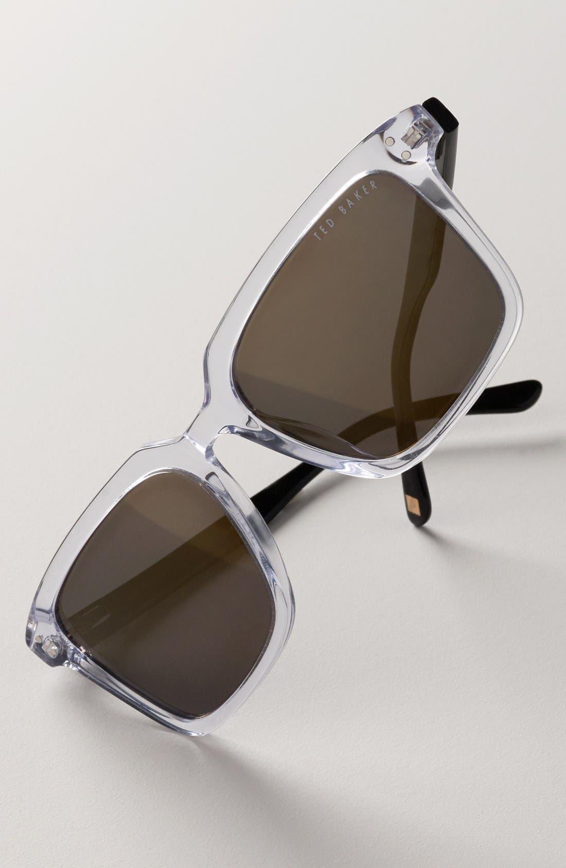 'Tedster' 56mm Polarized Sunglasses,                             Alternate thumbnail 2, color,
