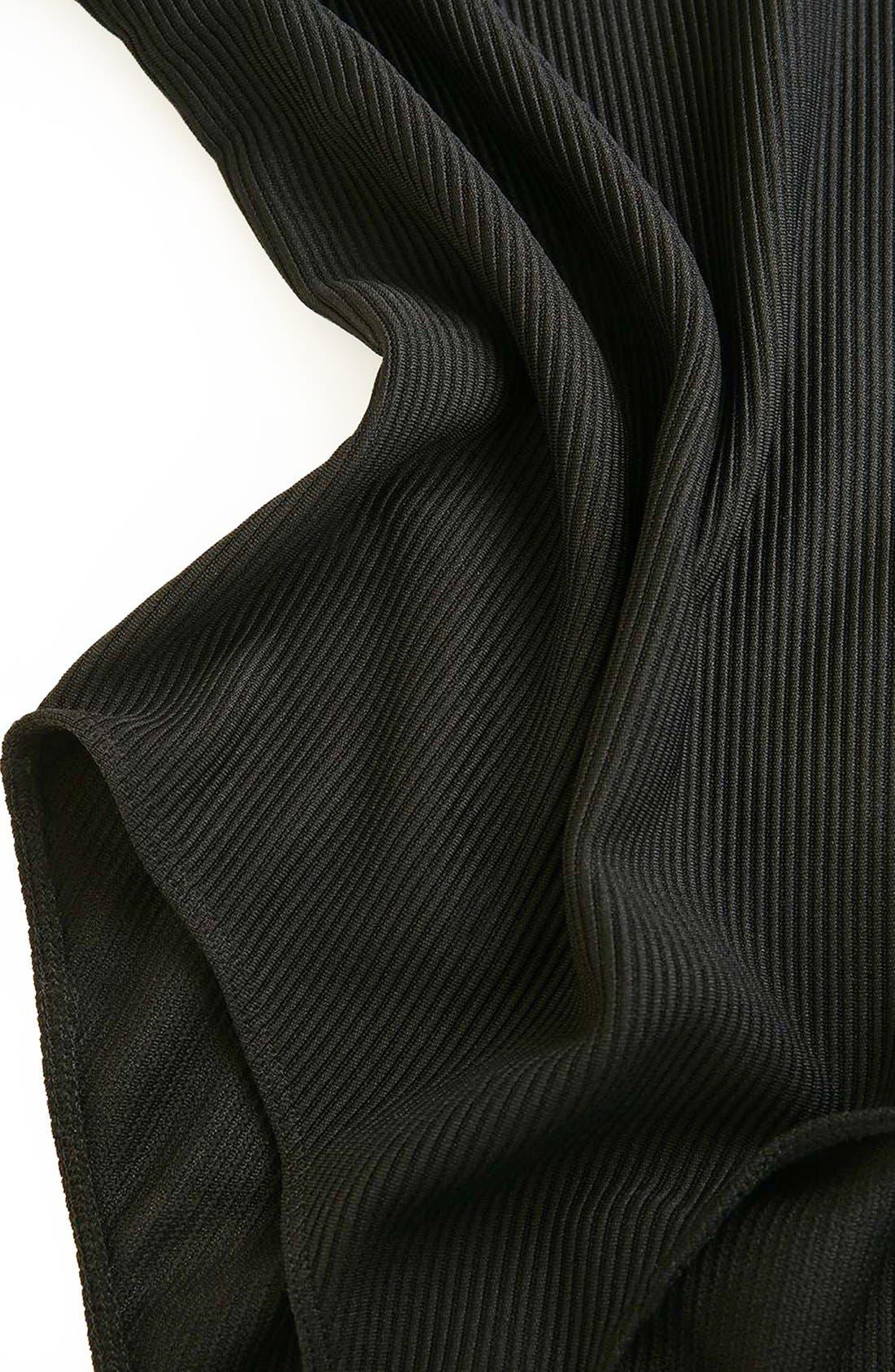 Alternate Image 6  - Topshop Boutique Asymmetrical Bodysuit