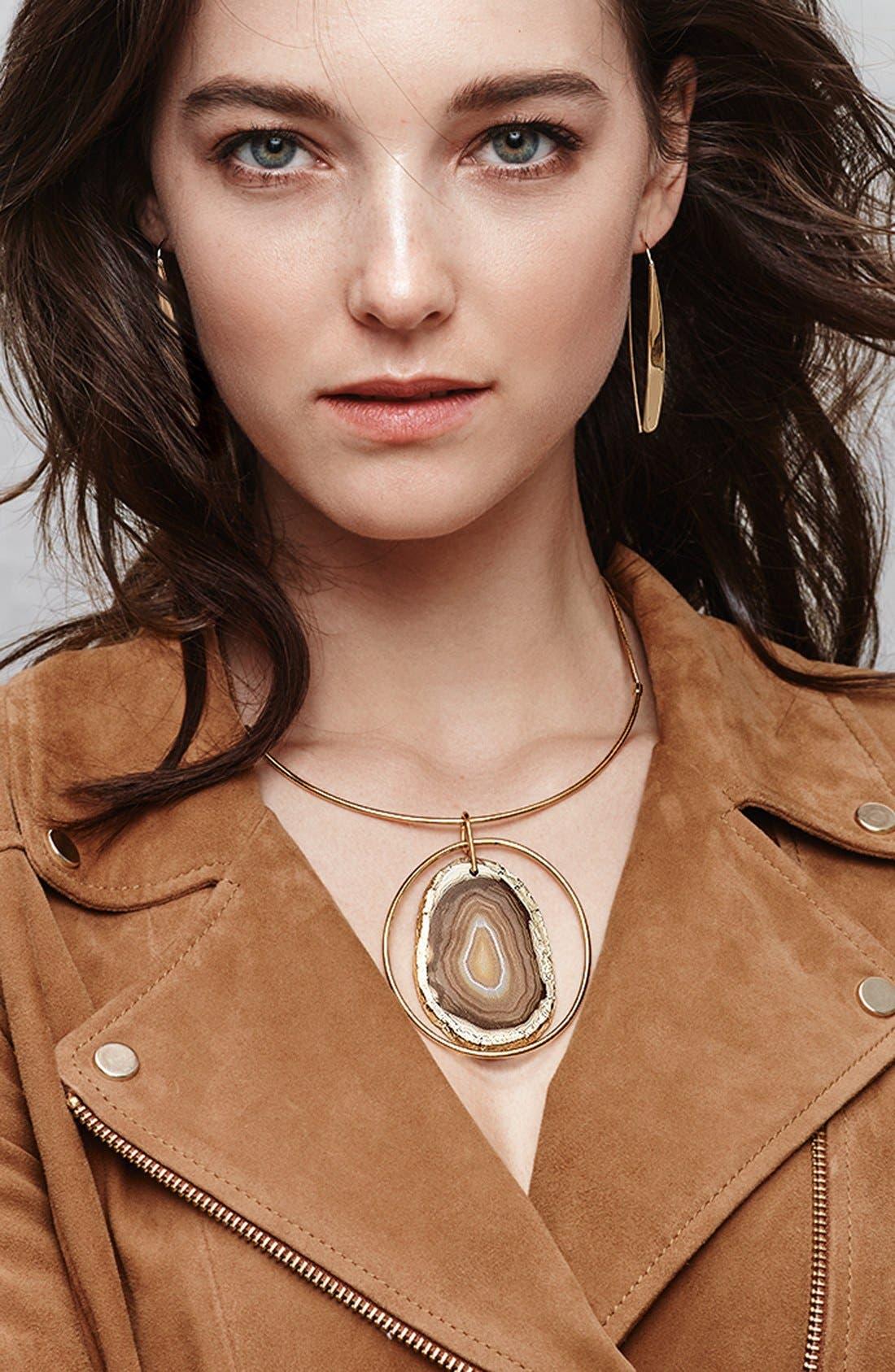Alternate Image 3  - Nordstrom Agate Collar Necklace