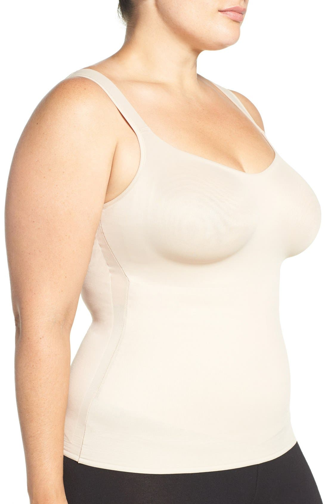 Camisole Shaper,                             Alternate thumbnail 3, color,                             Cupid Nude