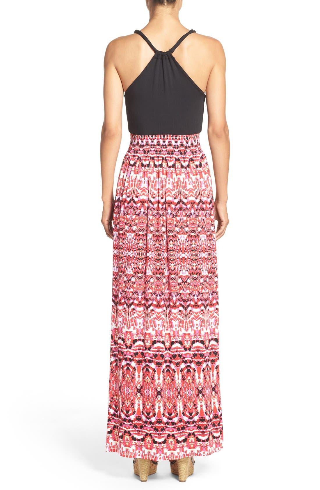 Alternate Image 2  - Felicity & Coco Printed Maxi Dress (Regular & Petite) (Nordstrom Exclusive)