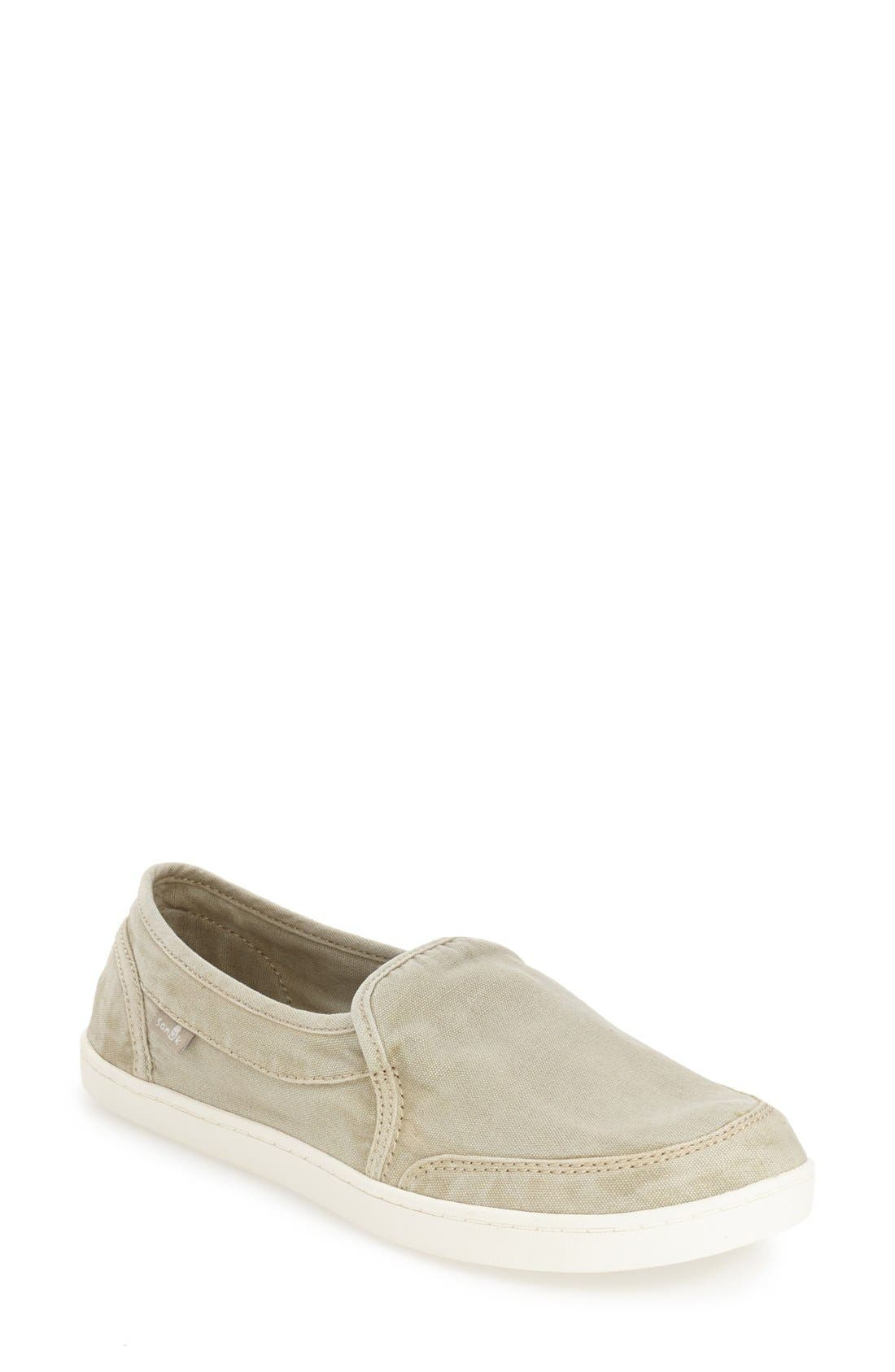 'Pair O Dice' Slip On,                         Main,                         color, Natural