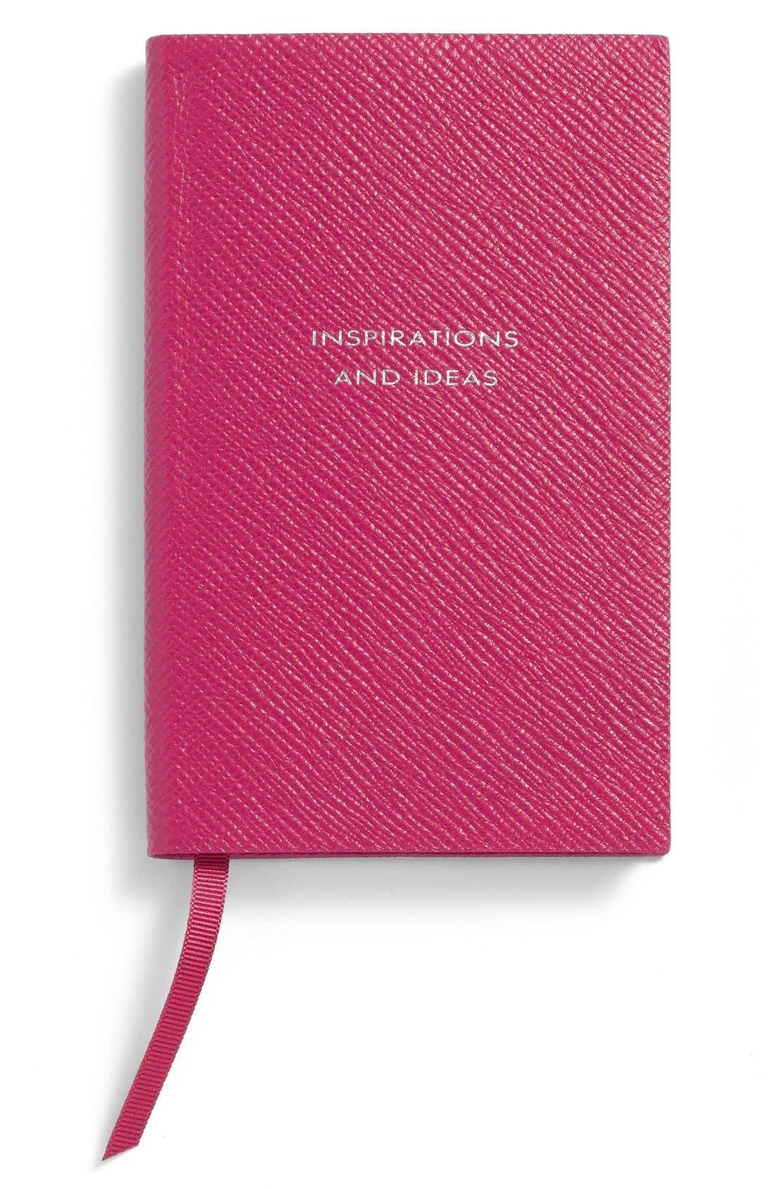 Main Image - Smythson 'Inspirations and Ideas - Panama' Pocket Notebook
