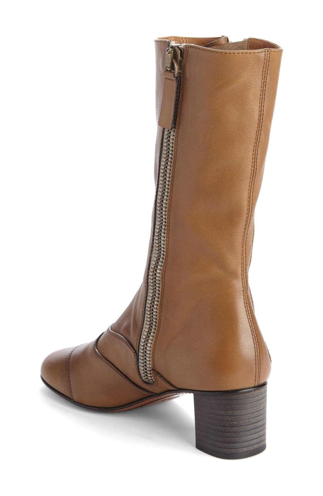 Alternate Image 2  - Chloé 'Lexie' Block Heel Boot (Women)