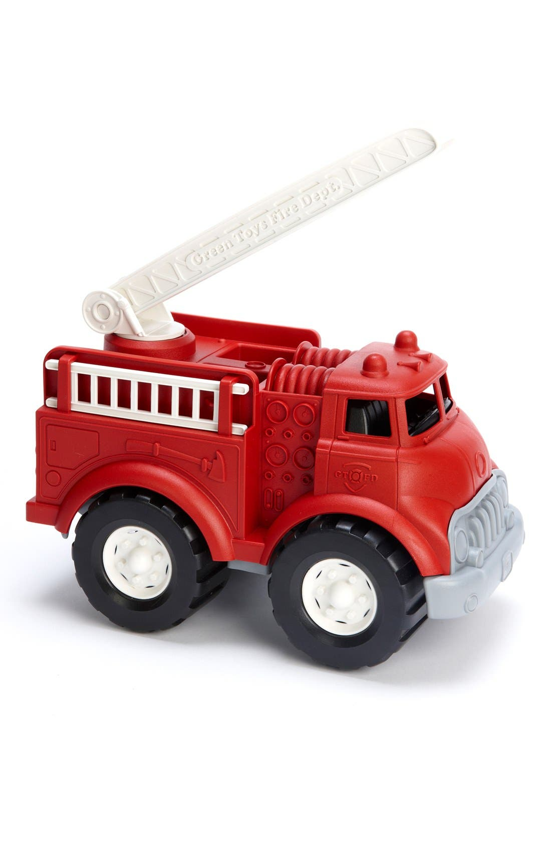 Fire Truck Toy,                             Alternate thumbnail 4, color,                             Misc