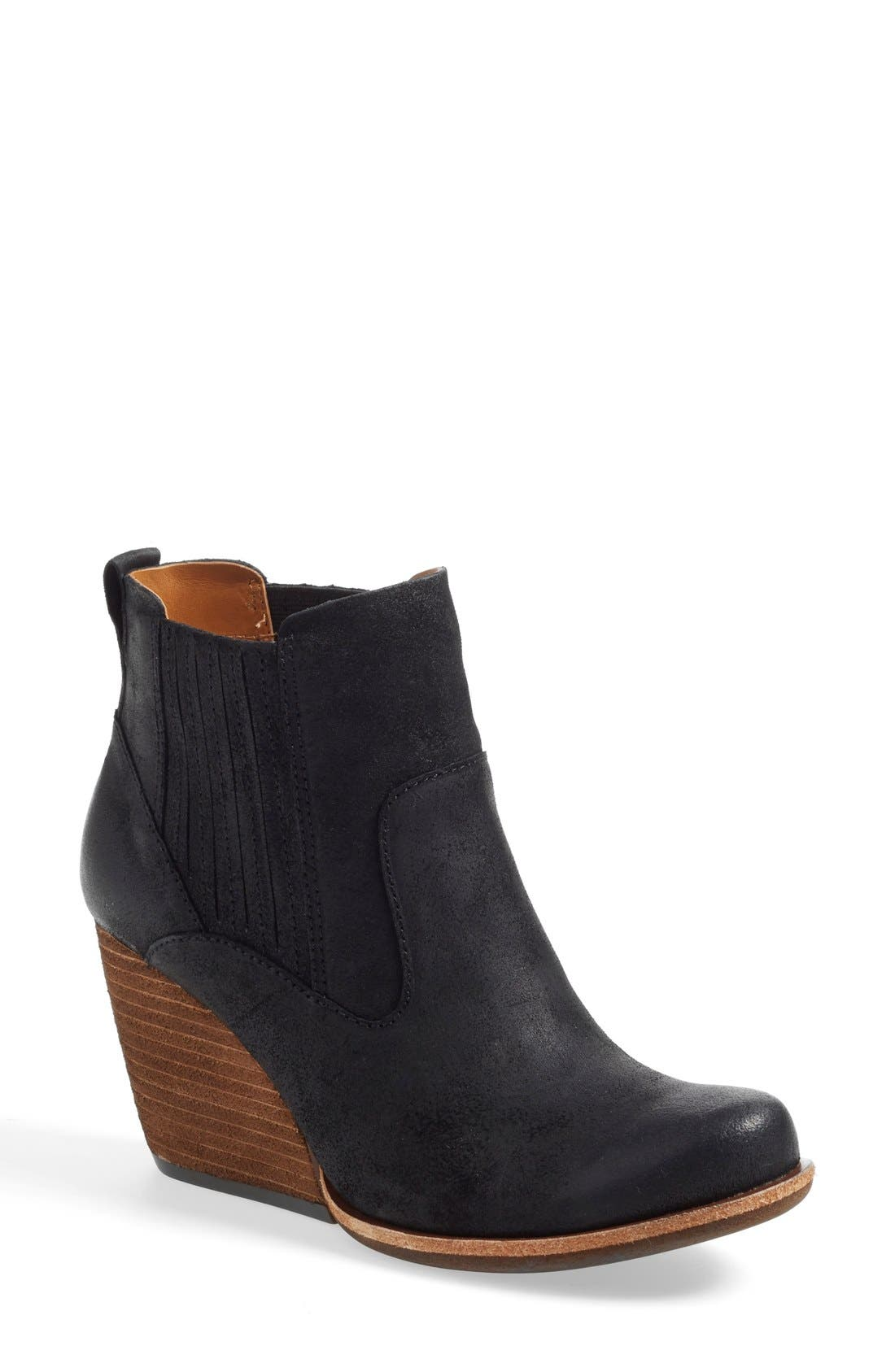 Main Image - Kork-Ease® 'Verdelet' Wedge Bootie (Women)