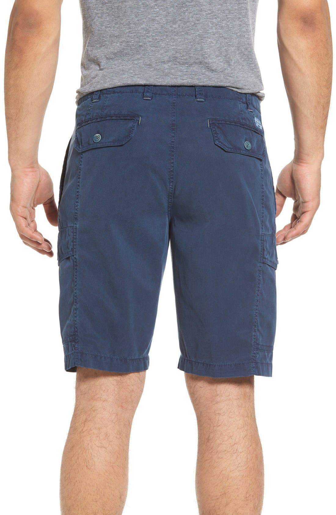 'Beachfront Kihei' Cargo Shorts,                             Alternate thumbnail 3, color,                             Navy