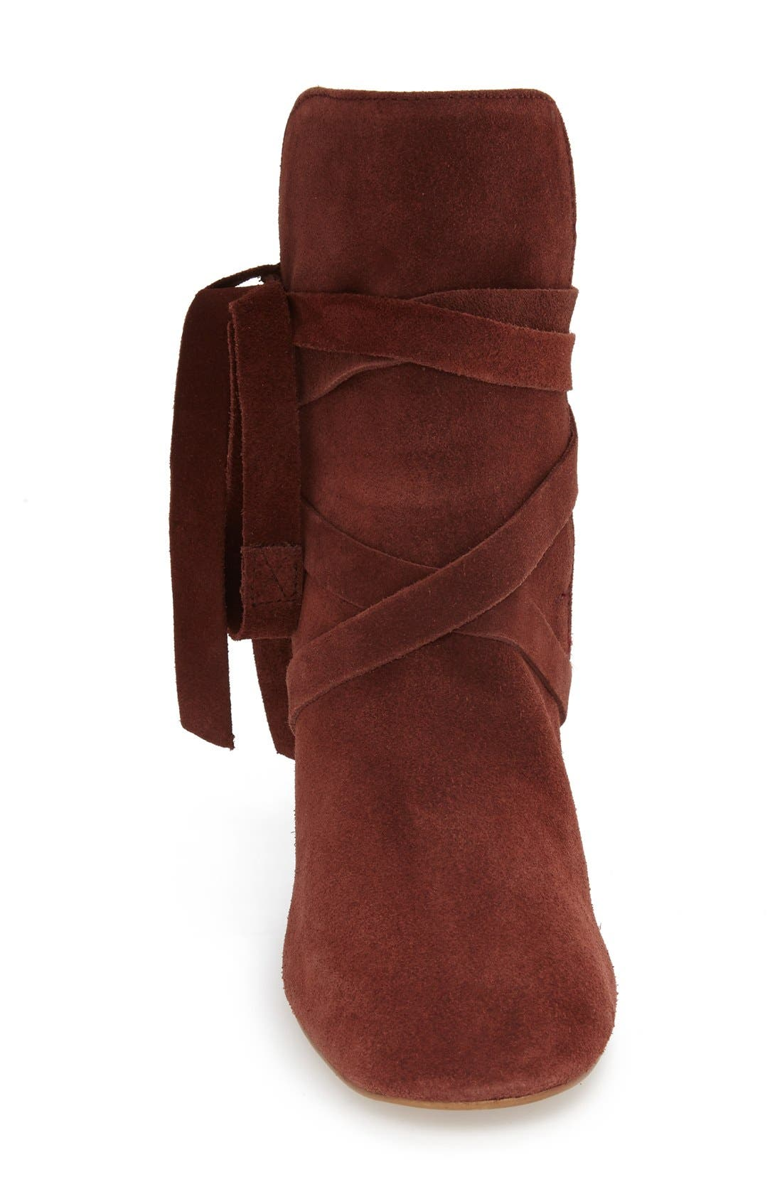 Alternate Image 3  - Topshop 'Anabel' Lace-Up Boots (Women)