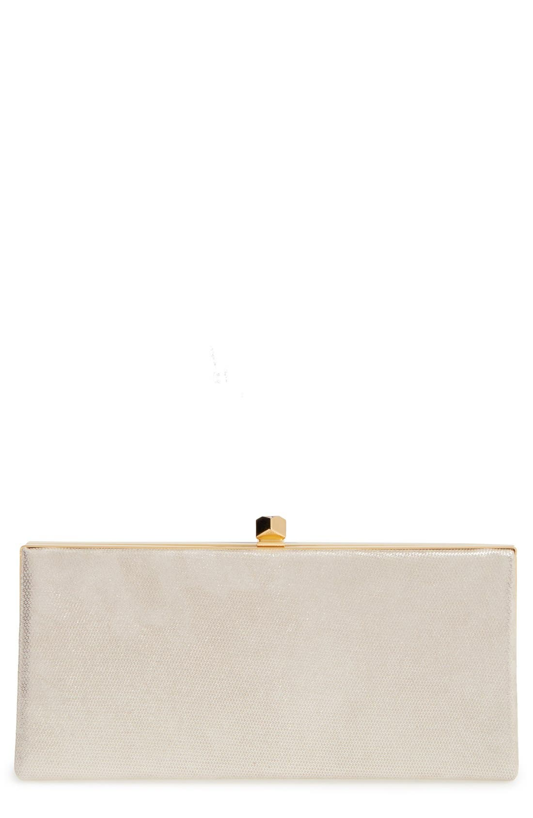 Jimmy Choo 'Mini Celeste' Metallic Clutch