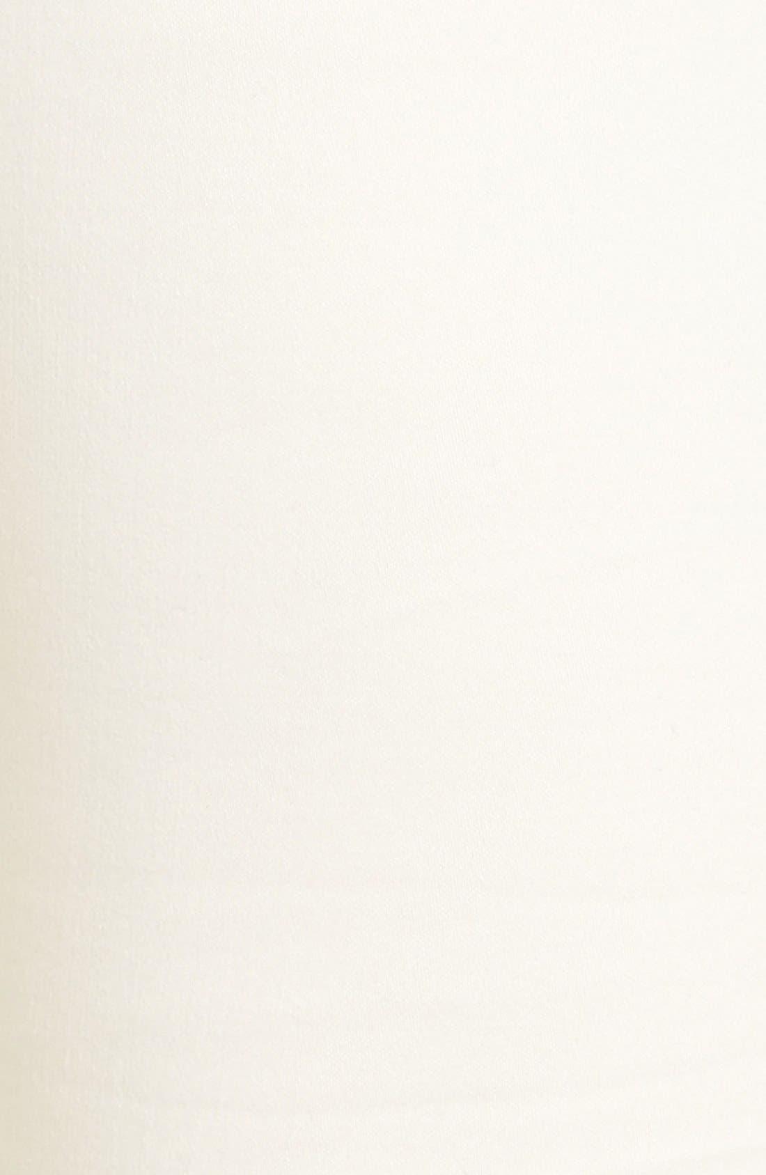 Alternate Image 5  - Eileen Fisher Organic Cotton Sateen Skinny Jeans