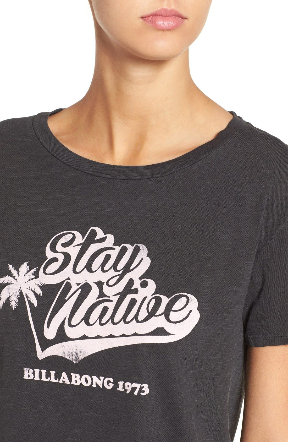 Alternate Image 4  - Billabong 'Stay Native' Graphic Tee