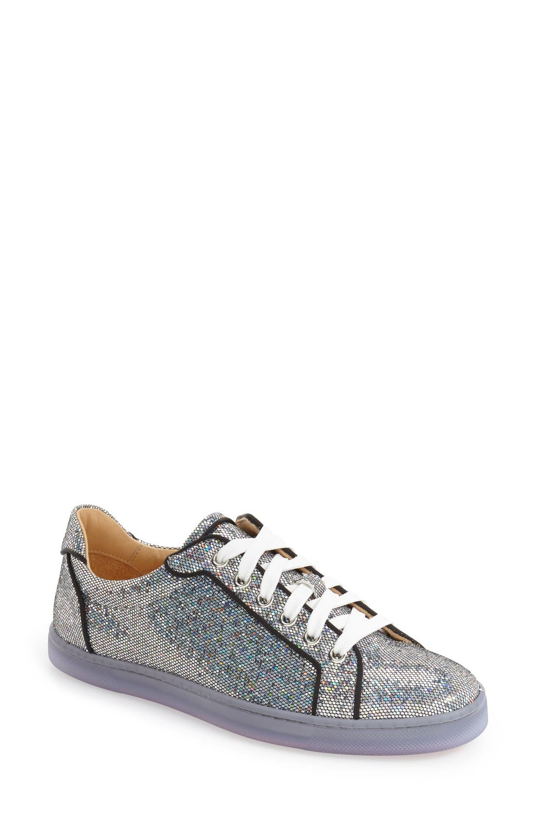 christian louboutin sequin sneakers