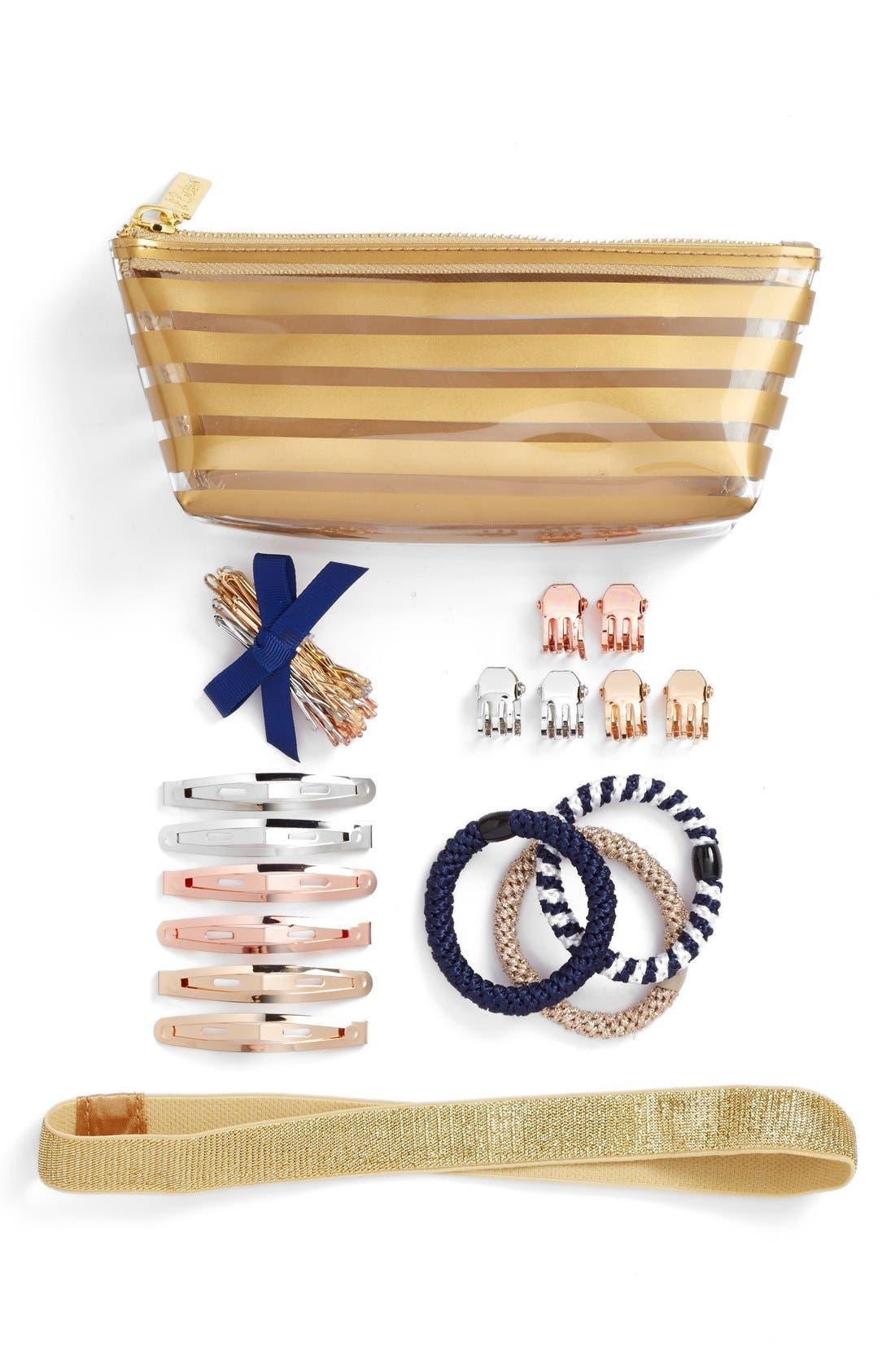 'Hair Emergency' Kit,                             Main thumbnail 1, color,                             Gold