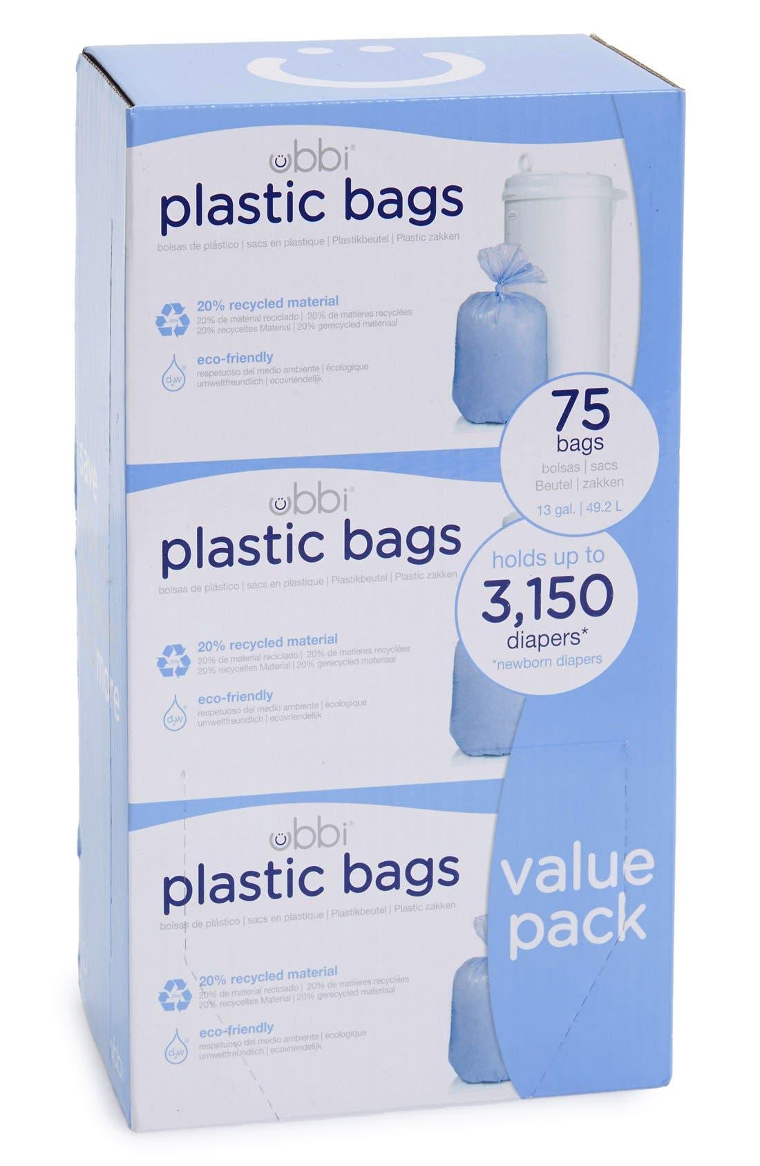 Ubbi Diaper Pail Plastic Bags (3-Pack)