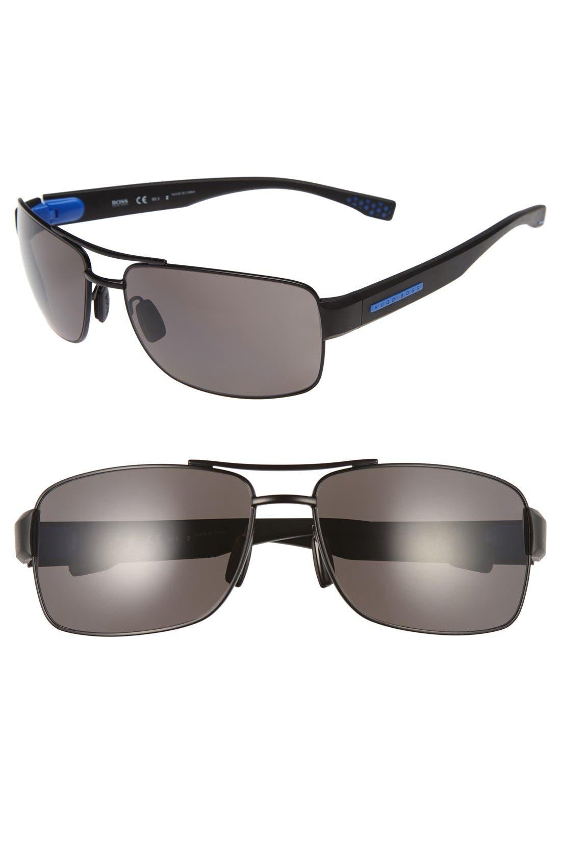 Alternate Image 1 Selected - BOSS '0801/S' 63mm Sunglasses