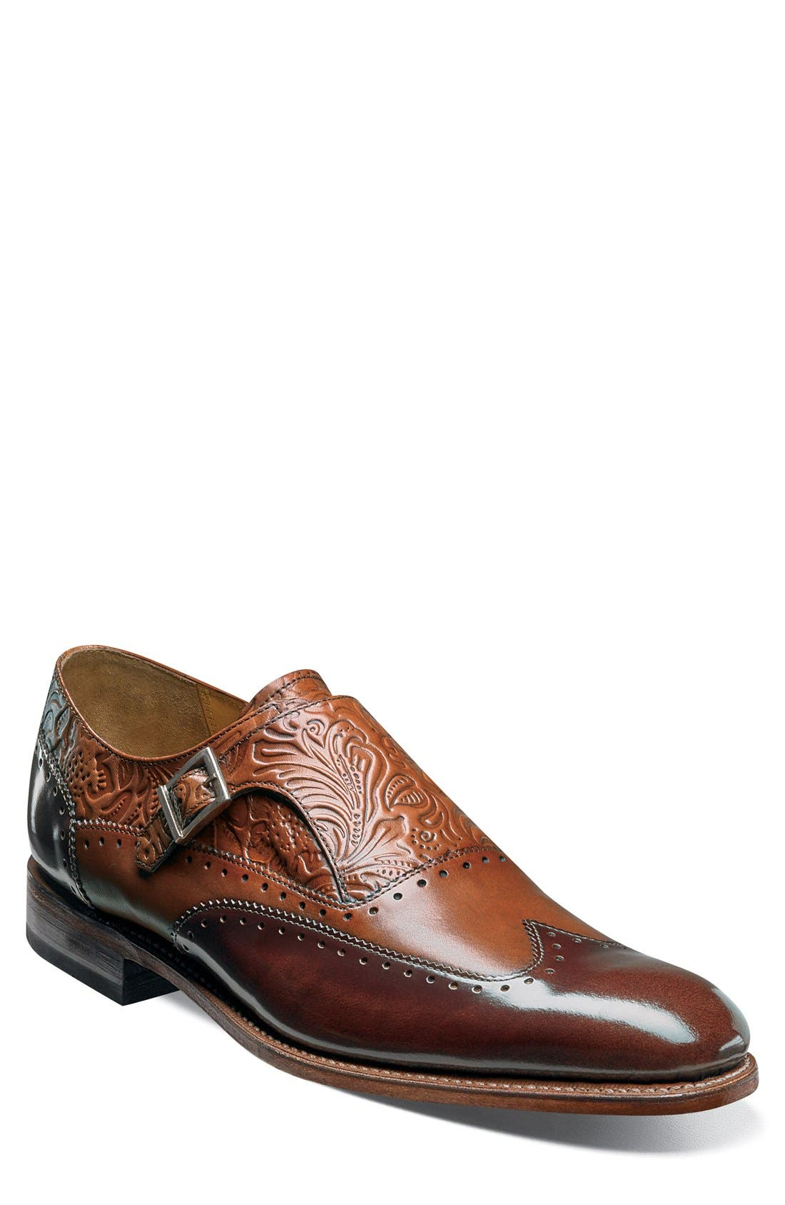 Alternate Image 1 Selected - Stacy Adams Madison II Monk Strap Shoe (Men)