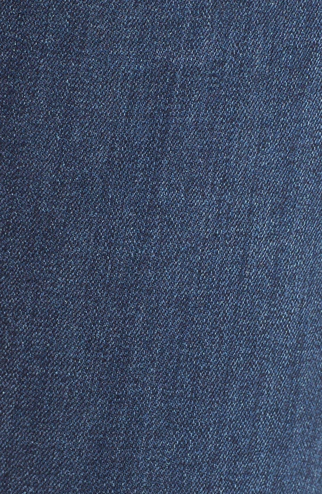 Alternate Image 5  - Hudson Jeans 'Collin' Skinny Jeans (Anchor Light)