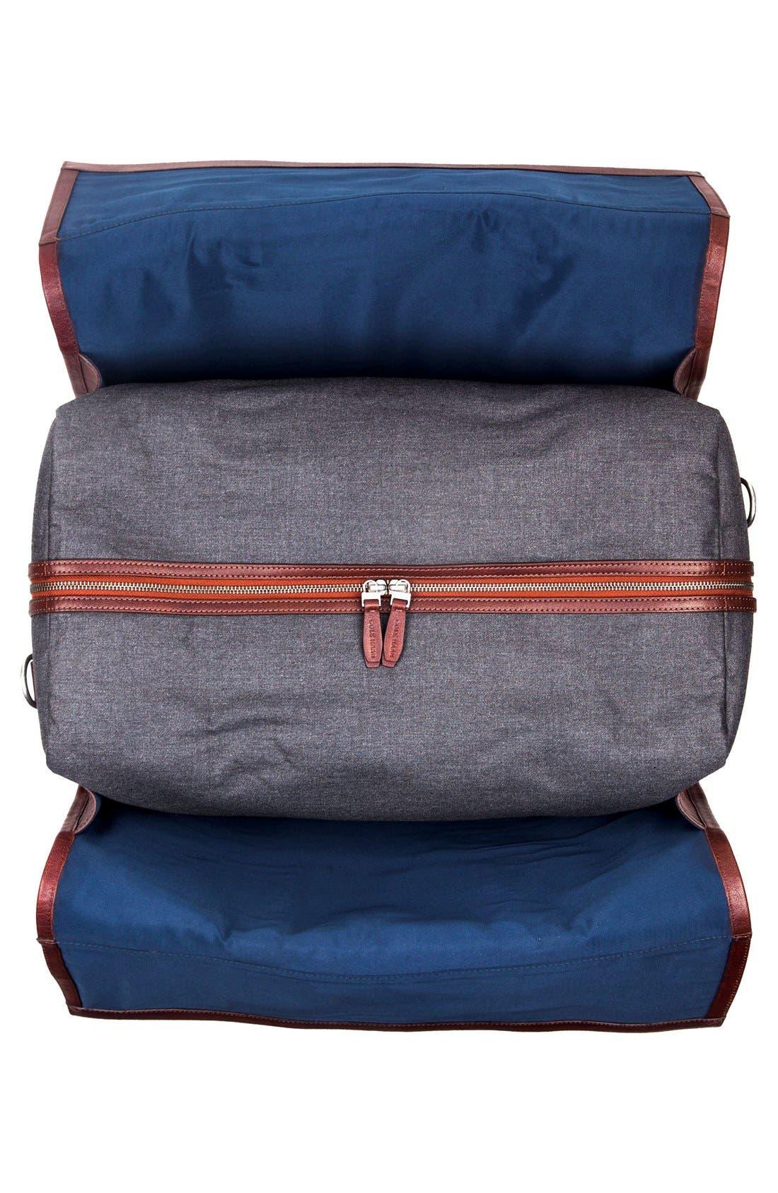 'Grafton' Duffel Bag,                             Alternate thumbnail 4, color,                             Grey